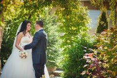 Ajardinar do casamento Fotos de Stock Royalty Free