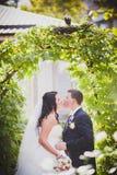 Ajardinar do casamento Imagens de Stock Royalty Free