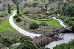Ajardinar do jardim Sunken Imagens de Stock Royalty Free