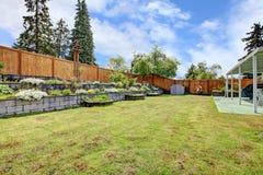 Ajardinar do quintal Imagem de Stock Royalty Free