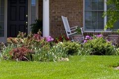 Ajardinar Home Imagens de Stock Royalty Free