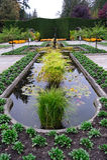 Ajardinar italiano do jardim Fotos de Stock