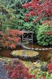 Ajardinar japonês do jardim Fotografia de Stock Royalty Free
