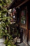 Ajardinar los detalles en Kyoto, Japón imágenes de archivo libres de regalías