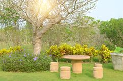 Ajardinar moderno do jardim Imagem de Stock Royalty Free