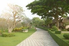 Ajardinar moderno do jardim Fotografia de Stock