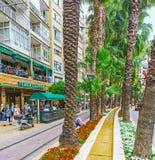 Ajardinar na avenida de Ataturk Fotografia de Stock Royalty Free