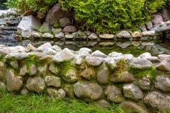 Ajardinar natural da pedra Fotos de Stock