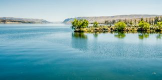 Ajardine cenas da natureza em torno do estado a do Rio Columbia Washington Imagens de Stock Royalty Free
