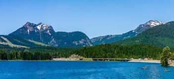 Ajardine cenas da natureza em torno do estado a do Rio Columbia Washington Fotografia de Stock Royalty Free