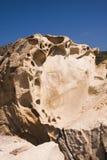 Ajardine com água e as rochas - Mar Egeu, Grécia Imagem de Stock Royalty Free