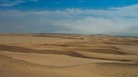 Ajardine com as dunas de areia perto de Swakopmund, Namíbia Imagens de Stock Royalty Free