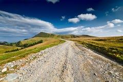Ajardine com estrada de terra Foto de Stock Royalty Free