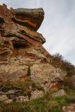 Ajardine com formações de rocha estranhas em Peracence, Espanha Imagem de Stock Royalty Free