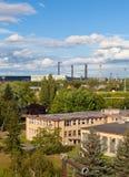 Ajardine com indústria extrativa na maioria na república checa Imagens de Stock