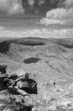 Ajardine com o lago em Soria, Picos de Urbion na Espanha Imagens de Stock Royalty Free