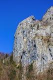 Ajardine com o parque nacional Buila de montanhas rochosas, Carpathians Imagens de Stock Royalty Free