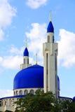 Ajardine com o templo do Islã da Rússia sul Imagem de Stock Royalty Free