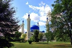 Ajardine com o templo do Islã da Rússia sul Imagens de Stock Royalty Free