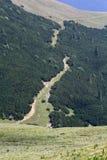 Ajardine das montanhas de Bucegi, parte de Carpathians do sul em Romênia Imagens de Stock Royalty Free