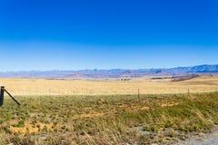 Ajardine de África do Sul, montanhas do ` s do dragão Fotografia de Stock