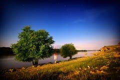 Ajardine de Ghindaresti, Romênia na costa de Danúbio Imagem de Stock Royalty Free