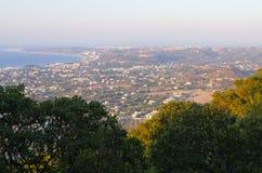 Ajardine do monte de Filerimos, ilha do Rodes, Grécia Fotografia de Stock Royalty Free