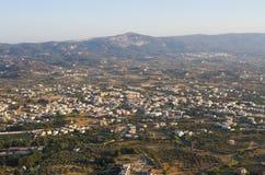Ajardine do monte de Filerimos, ilha do Rodes, Grécia Imagens de Stock