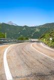Ajardine em Picos de Europa, as Astúrias, Espanha Fotos de Stock