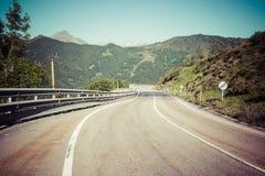 Ajardine em Picos de Europa, as Astúrias, Espanha Imagens de Stock Royalty Free