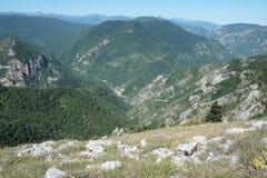 Ajardine em Pyrenees Imagens de Stock