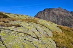 Ajardine em senales val, Tirol sul italy Imagens de Stock Royalty Free