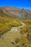 Ajardine em senales val, Tirol sul italy Fotografia de Stock Royalty Free