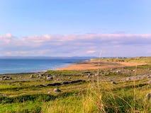 Ajardine em torno do anel do ` da costa do ` do Kerry, Irlanda foto de stock