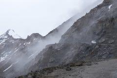 Ajardine em torno do distrito de Leh em Ladakh, Índia Foto de Stock Royalty Free