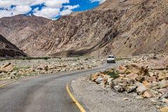 Ajardine em torno do distrito de Leh em Ladakh, Índia Imagem de Stock Royalty Free