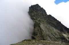 Ajardine em uma passagem de montanha no Tatras alto slovakia Imagem de Stock Royalty Free
