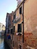 Ajardine em Veneza - construções em Veneza no por do sol Imagens de Stock Royalty Free
