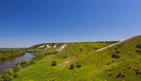 Ajardine en el valle de Don River en Rusia central Imágenes de archivo libres de regalías