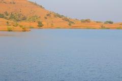 Ajardine en la naturaleza, agua trasera del mahi, banswara, Rajasthán, la India fotos de archivo libres de regalías