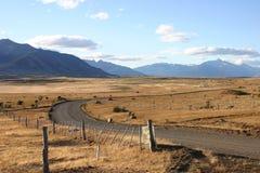 Ajardine en patagonia foto de archivo libre de regalías