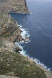 ajardine, formentor do cabo na ilha de Majorca na Espanha CLI Foto de Stock Royalty Free