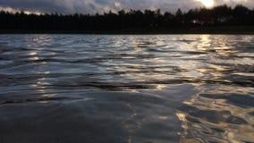 Ajardine a foto das ondas do Zandenplas Imagens de Stock