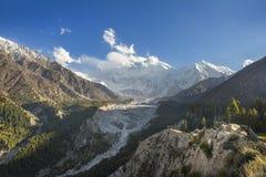 Ajardine a foto de prados feericamente, Gilgit, Paquistão Fotografia de Stock