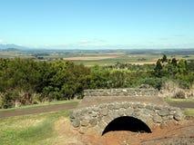 Ajardine la opinión Atherton, Queensland del parque de la protección de la colina de Hallorans Fotografía de archivo libre de regalías