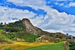 Ajardine la vista de Calabria, en la provincia de Crotone, Italia Fotografía de archivo libre de regalías