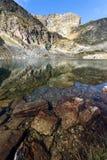 Ajardine lagos Elenski e pico de Malyovitsa, montanha de Rila Fotografia de Stock Royalty Free