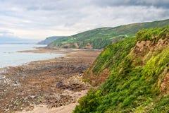 Ajardine na costa atlântica Imagem de Stock Royalty Free