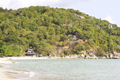 Ajardine na ilha de Koh Phangan, Tailândia Imagem de Stock