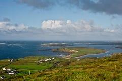 Ajardine na península do Dingle Foto de Stock